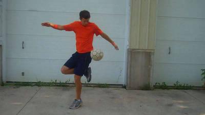 Soccer Tricks - Jump Over Ball Pop Up Trick