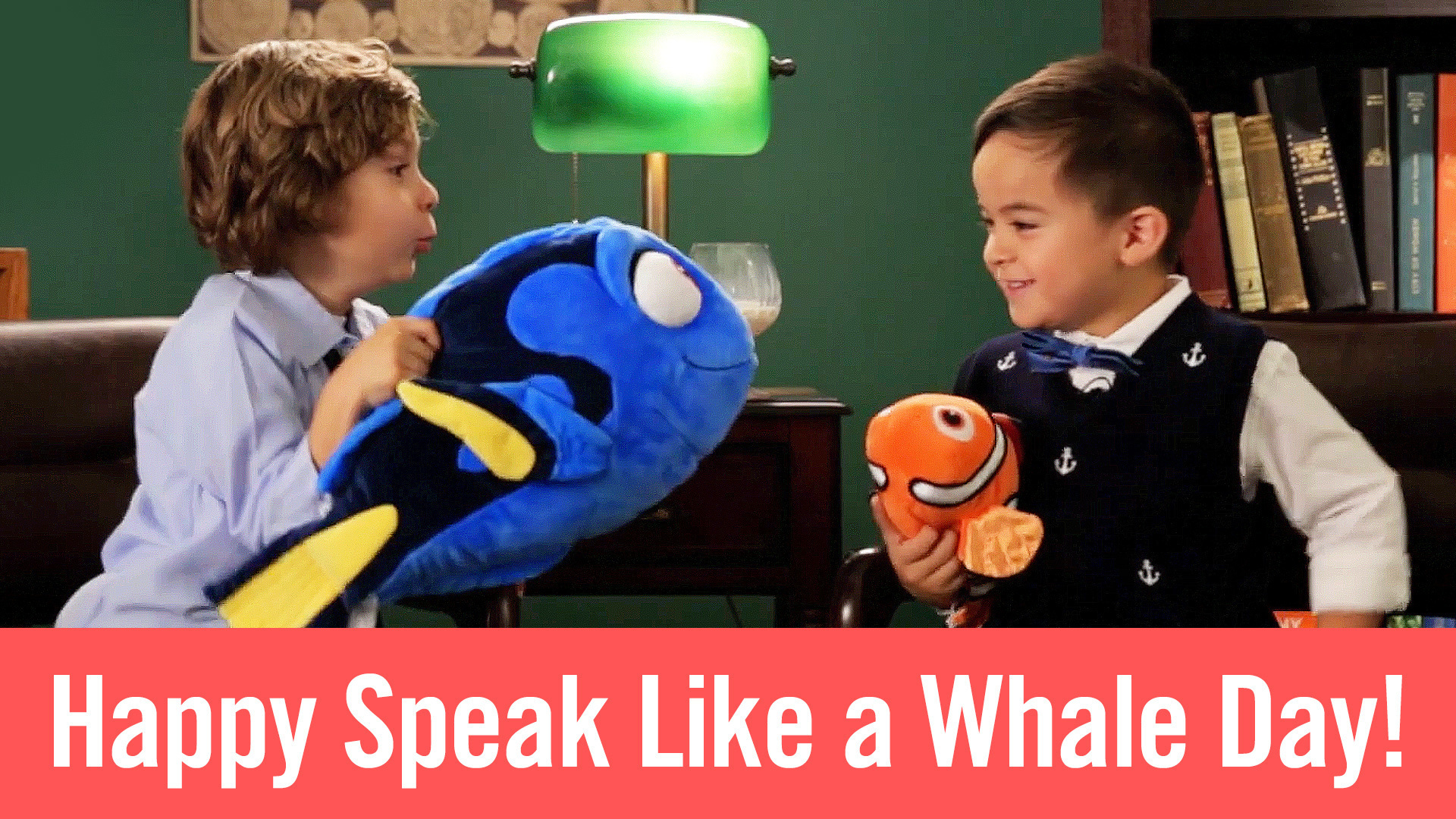 Happy Speak Like a Whale Day!