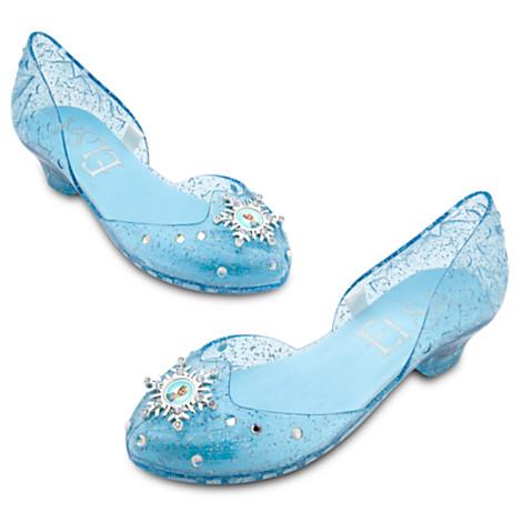 Elsa Costume Shoes for Girls - Frozen