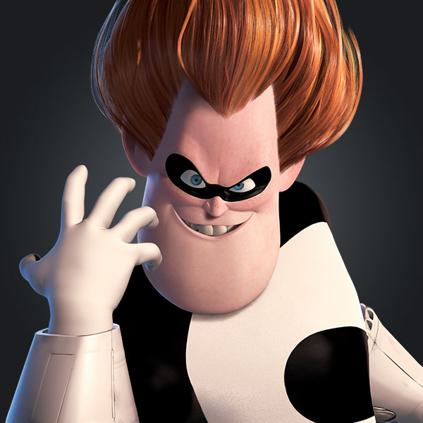 Characters The Incredibles Disney Movies