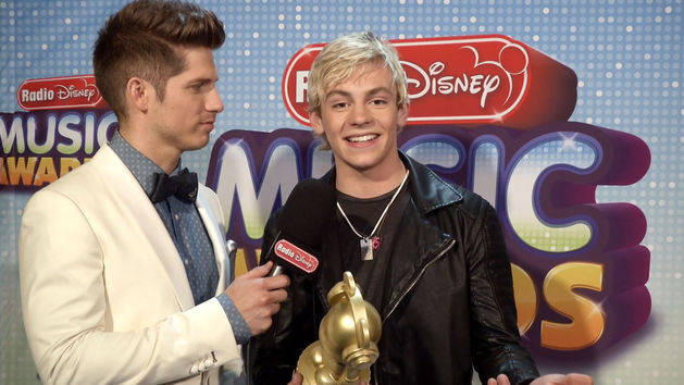 Ross Lynch in the Winners Circle at the Radio Disney Music Awards