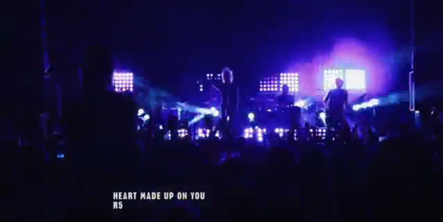 R5 - Heart Made Up on You (Live Concert)