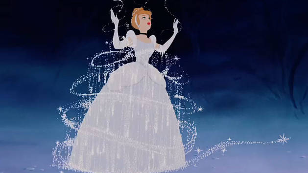 Cinderella: Dress Transforms