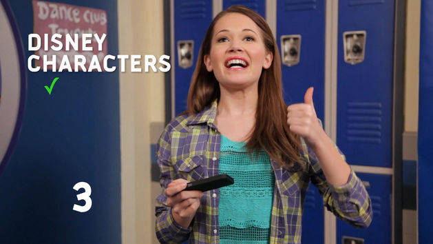 "5 Favs: Kelli Berglund ""Disney Characters"""