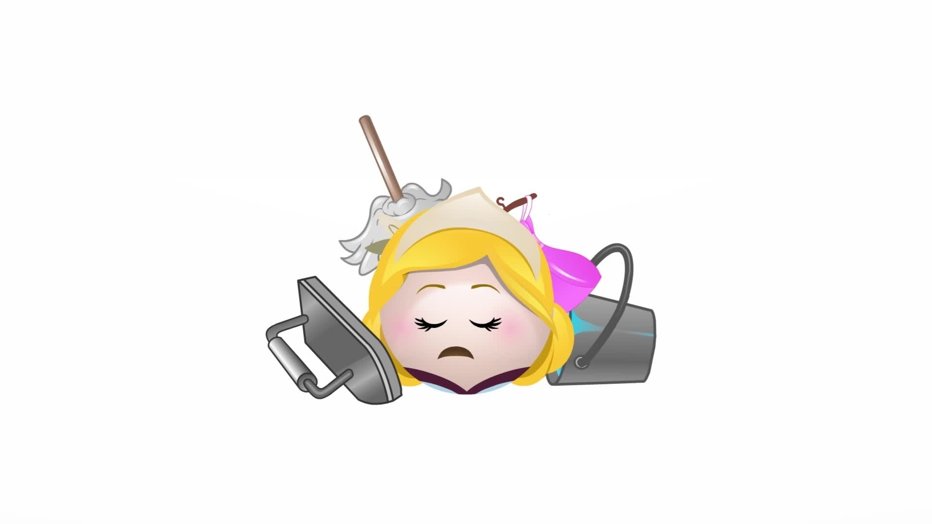 Cinderela contado por Emoji