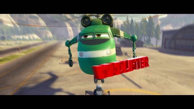 Planes: Fire & Rescue - Meet Windlifter!