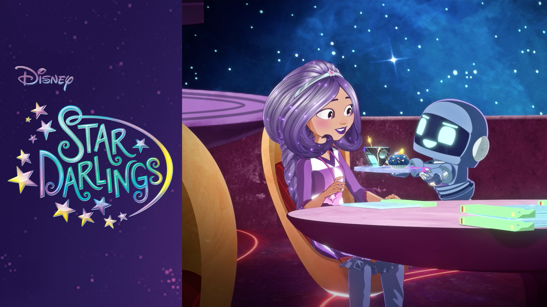 MO-J4's Day  - Disney's Star Darlings Clip