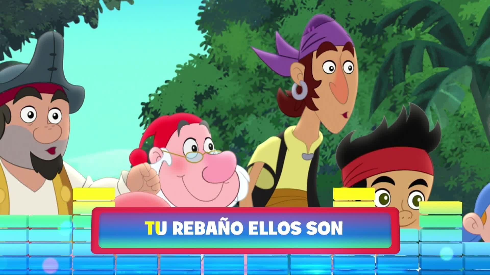 """Bebés Cocodrilo. De la serie: """"Jake y los piratas de Nunca Jamás"""""""