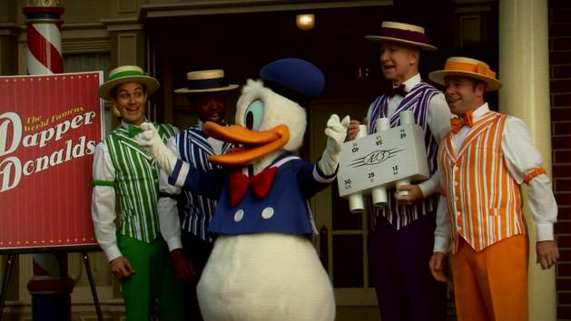 Donald Duck Tunes In To His Dapper Disney Side!
