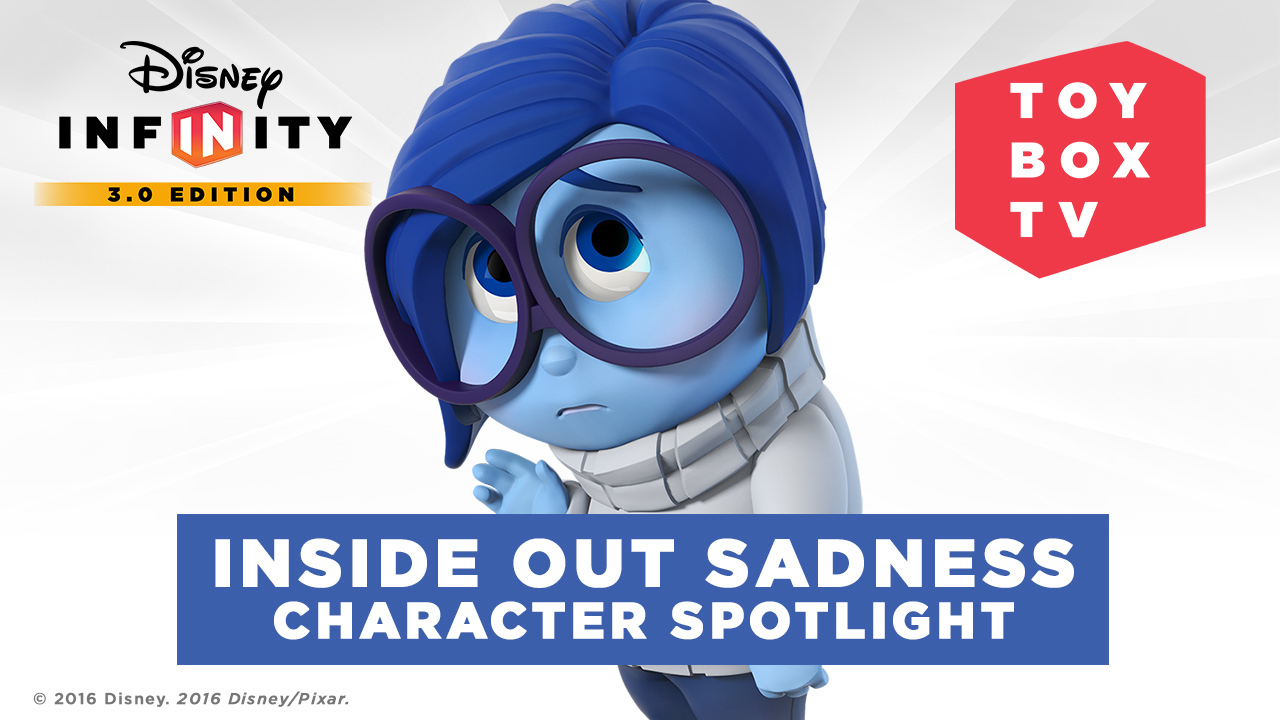 Ep. 106 - Inside Out Sadness Character Spotlight - Disney Infinity Toy Box TV