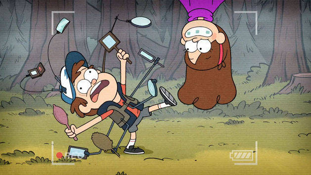 Dipper's Guide to the Unexplained: Hide Behind