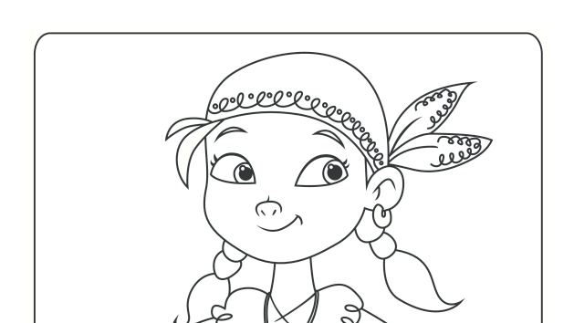 Jake And The Neverland Pirates Coloring Pages Jake