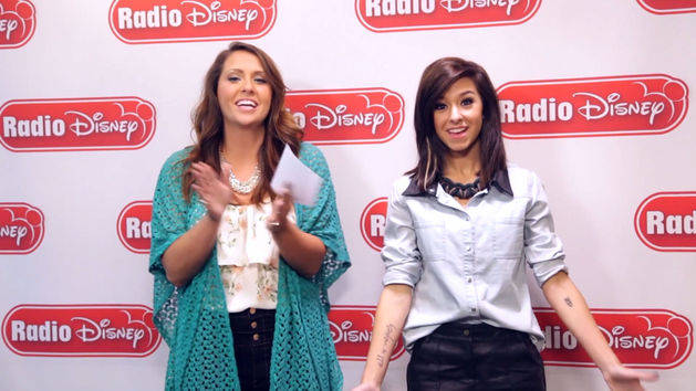 Christina Grimmie Plays Must Be - Radio Disney Insider