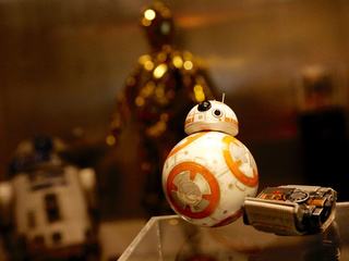 Test Driving Sphero's New Battle-Worn BB-8 Around Lucasfilm…with the Force Band