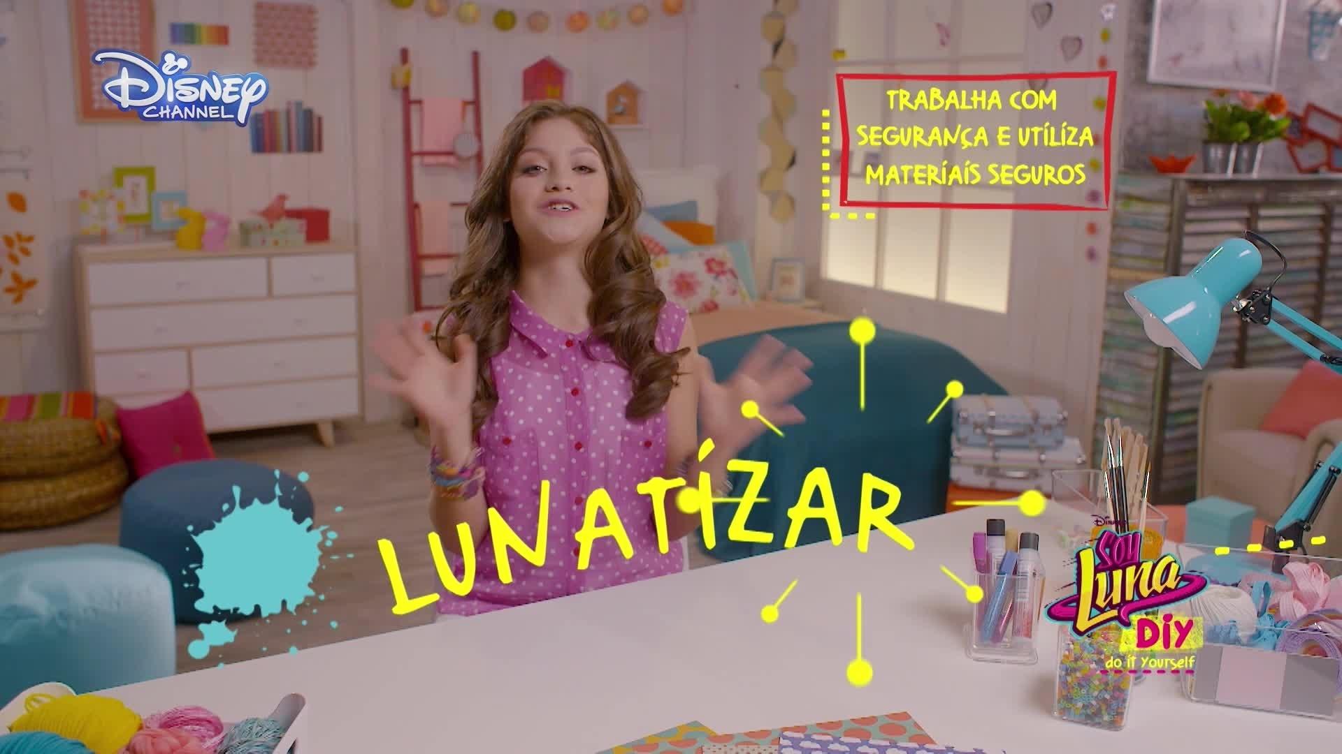 Soy Luna DIY - Pulseira com Contas Douradas