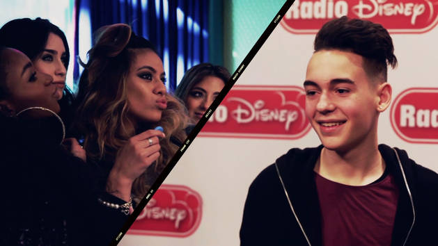 Fifth Harmony on Alli Simpson Show and Alex Angelo - Radio Disney Insider