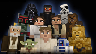 Star Wars Skins Bring the Force to Minecraft