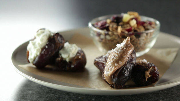 Trail Mix and Stuffed Dates