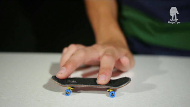 FingerTips Tutorial 7: Varial Heelflip