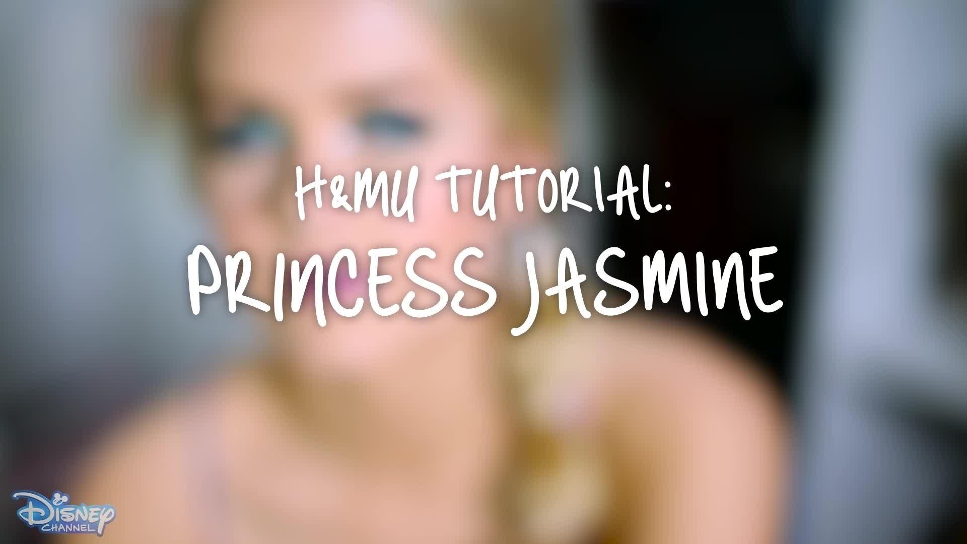 The Style Edit - Princess Jasmine Hair & Makeup Tutorial
