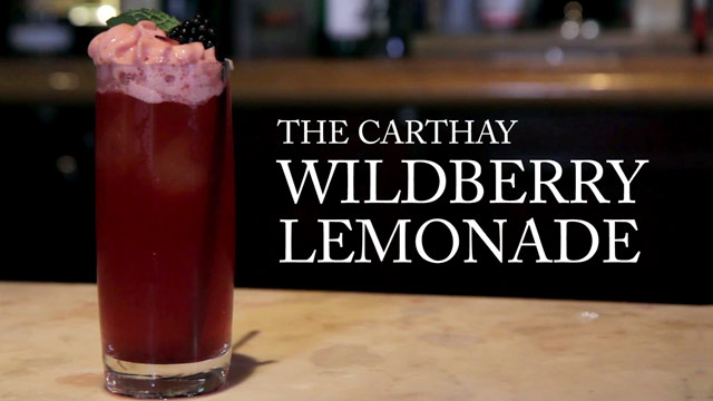 Carthay Circle's Wildberry Lemonade  | Disney Parks Mixology School | Disney Insider