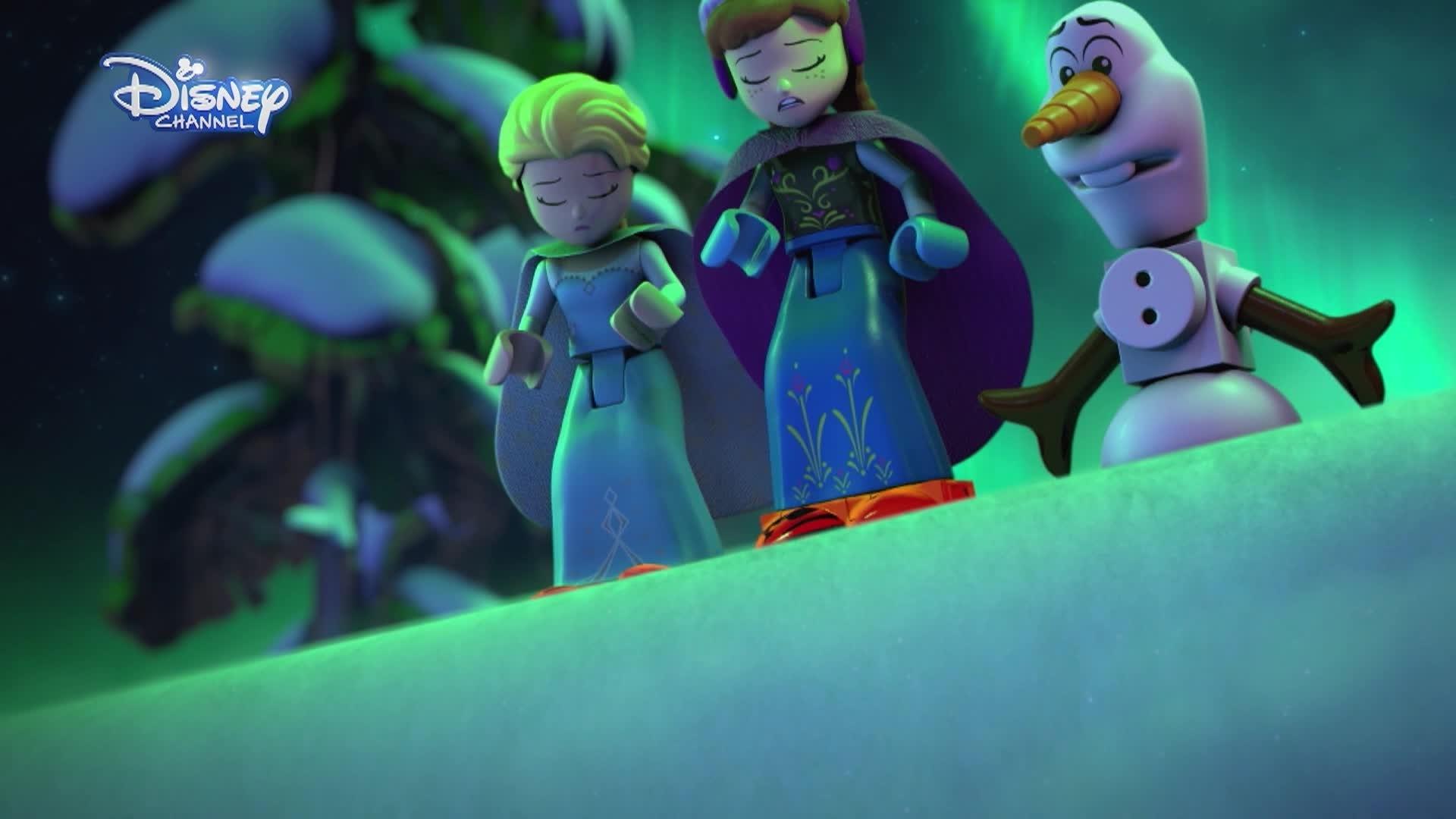 Disney Frozen Luces de Invierno - Parte 3: El Gran Glaciar