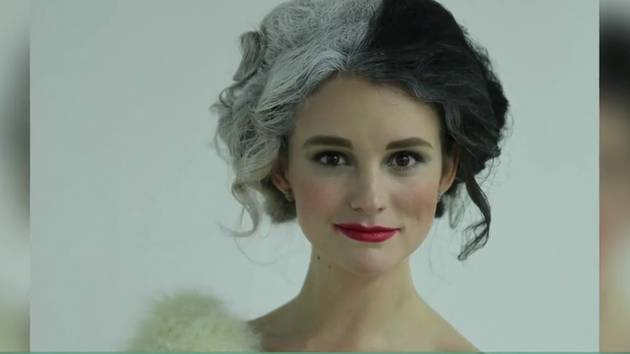 Cruella de Vil Makeup and Hair Time Lapse - Disney Style