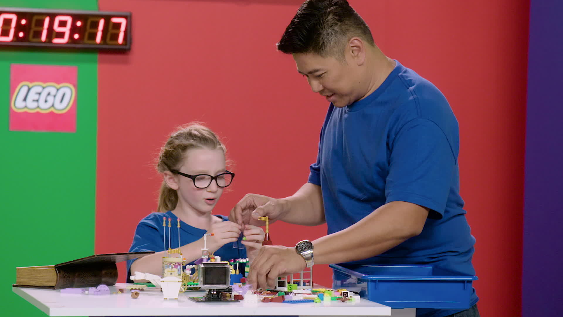 Disney Bricked | LEGO Build Challenge | Beauty and the Beast