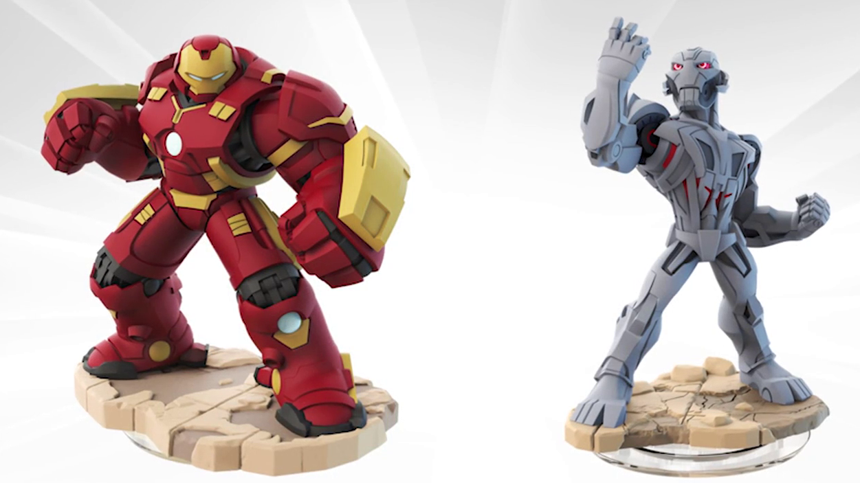 Hulkbuster & Ultron Spotlight - Disney Infinity 3.0 Edition