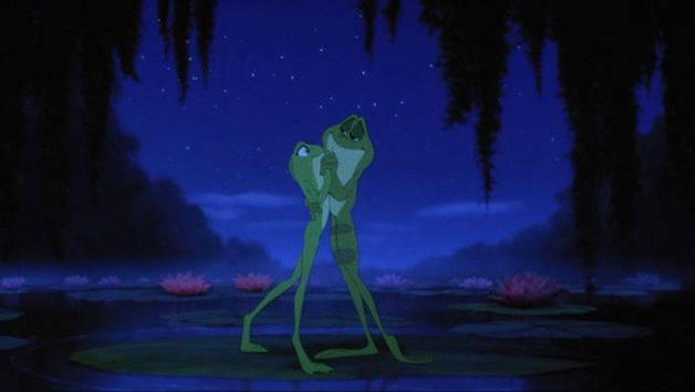 Ku00fcss den Frosch - Evangeline : Ku00fcss den Frosch : Disney Videos Germany