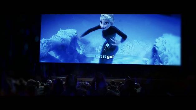 Frozen Sing-Along Promo