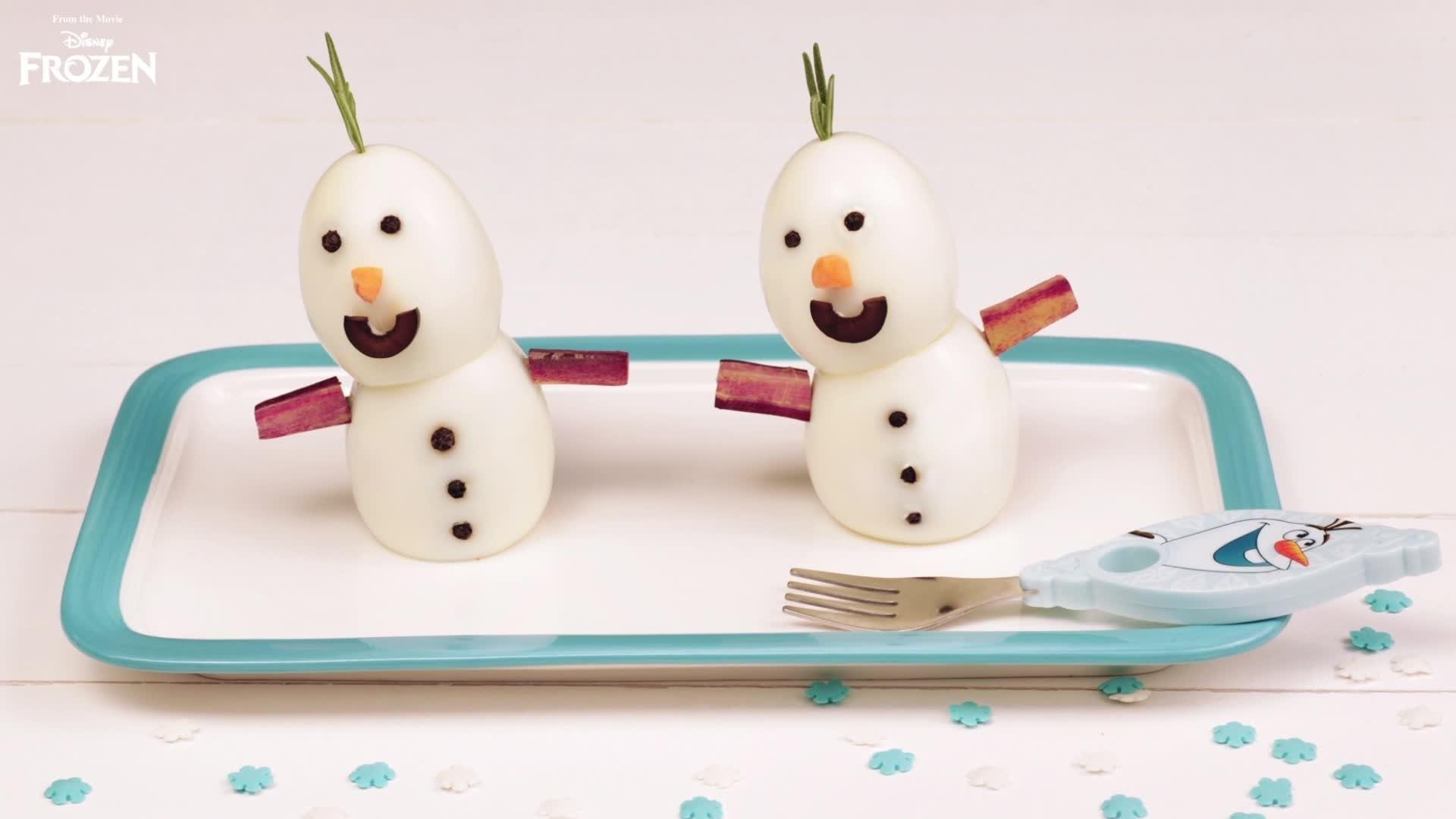 Pupazzi di neve alla Disney Frozen