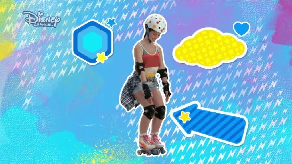 Soy Luna: Lär dig åka rullskridskor #2 Bromsa