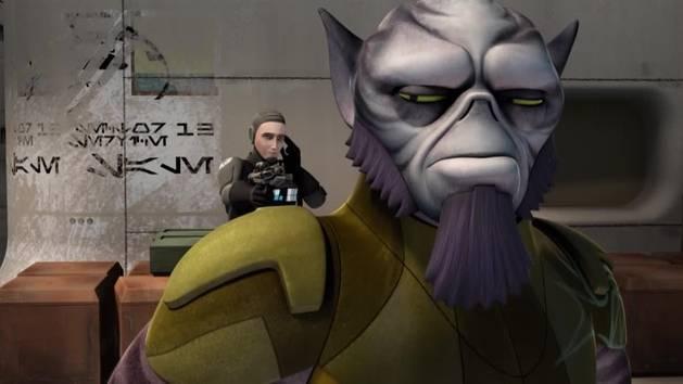Star Wars rebels - situazione complicata
