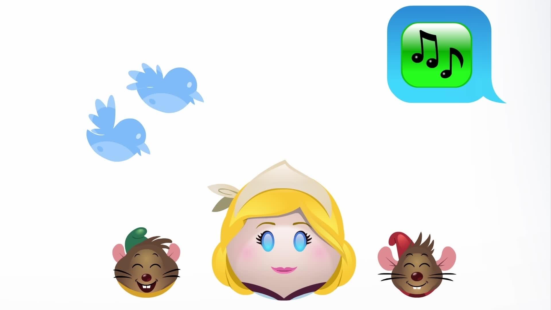 Disney Emojis - Cendrillon