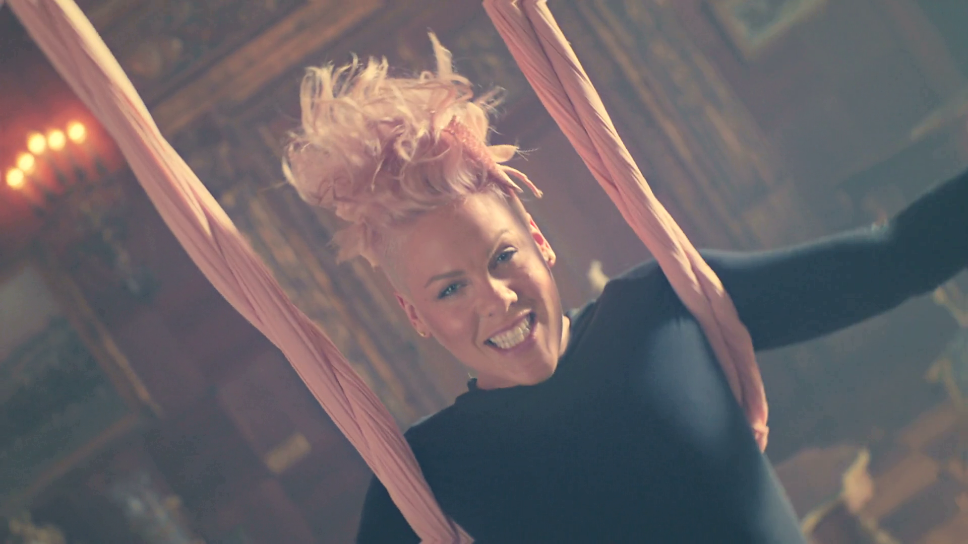 """P!NK """"Just Like Fire"""" Music Video   Alice Through The Looking Glass"""