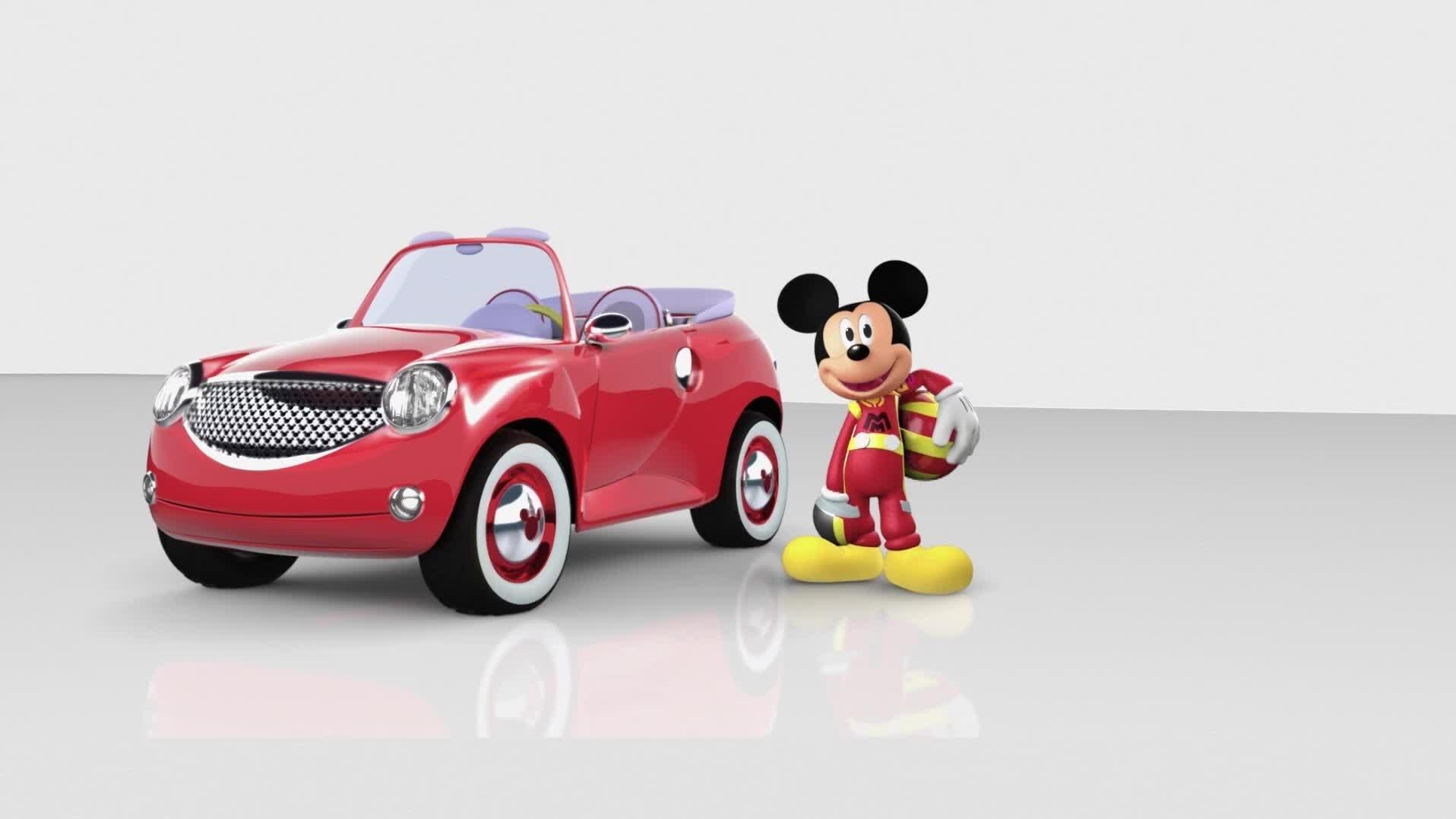 Mickey Aventuras sobre Rodas - Primeiras Imagens