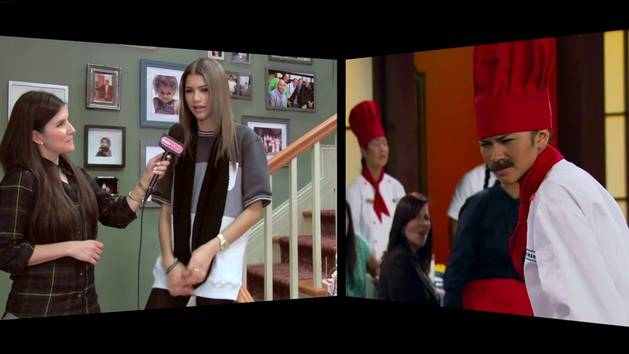 On The Set of K.C. Undercover with Zendaya - Radio Disney