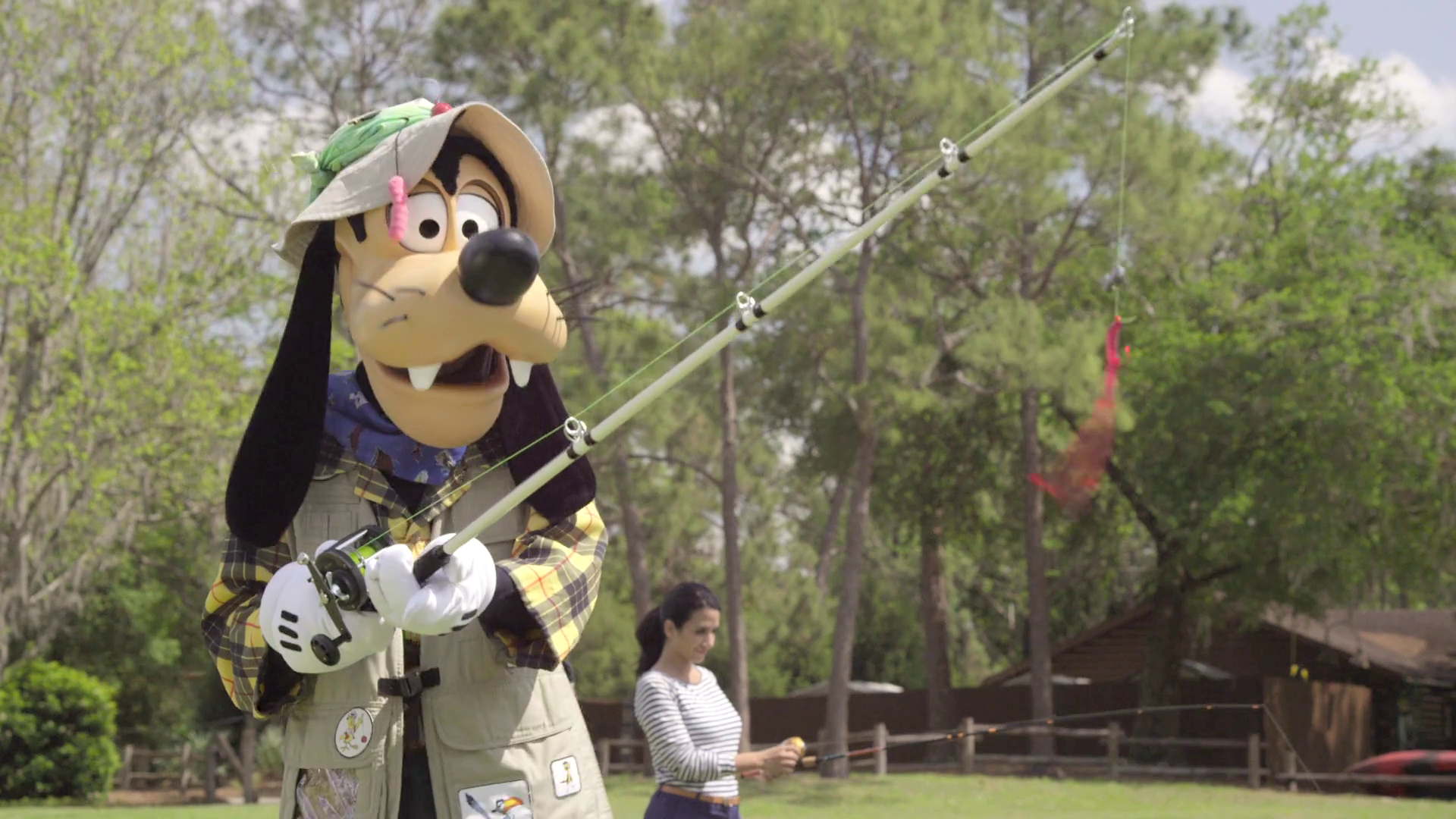 Goofy In The Art of Fishing