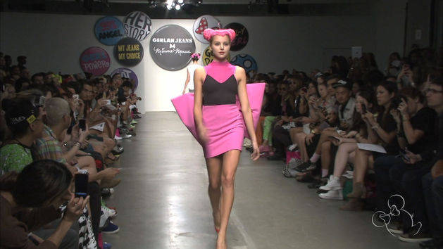 Minnie Mouse and Gerlan:  New York Fashion Week
