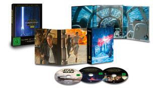 Multidimensionales Filmvergnügen für Sammler: Star Wars: Das Erwachen der Macht in 3D