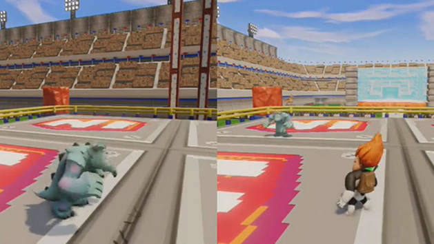 Wrestling Arena - DISNEY INFINITY Featured Toy Box