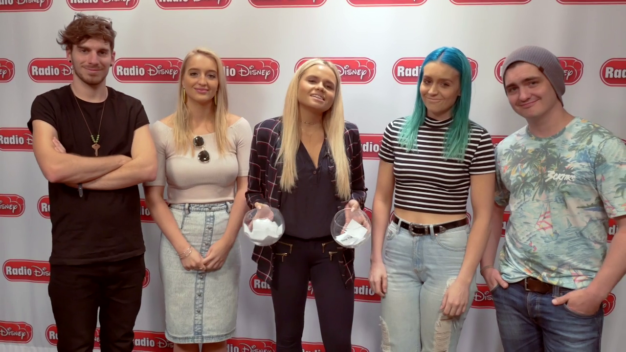 Accent Challenge with Sheppard - Radio Disney