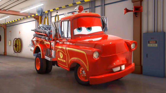 Cars Toons - Reddingsteam Takel