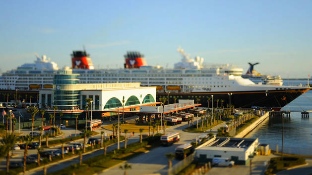 A Disney Cruise Line Vacation - Tilt-Shift Video