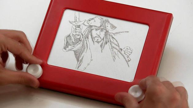 Etch-a-Sketch Pirates
