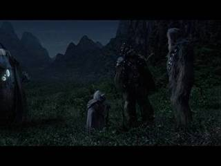 Yoda's Farewell to Chewbacca