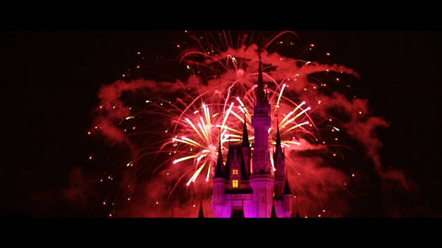 Wishes Nighttime Spectacular in Slow-Motion
