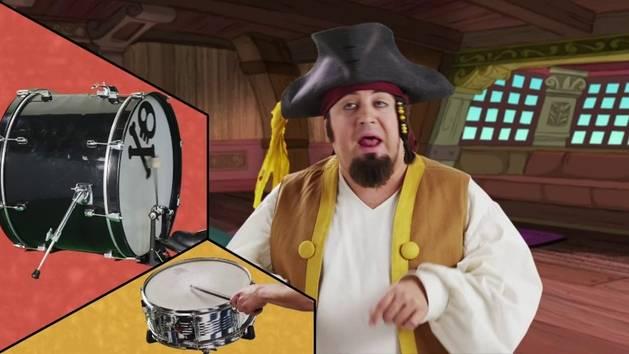 Music Video: Pirate Rock Recipe