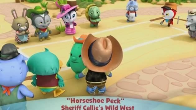 Sheriff Callie's Wild West: Hourseshoe Peck - Music Video